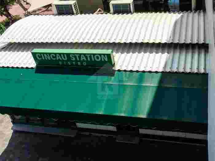 Cincau Station, Spazio